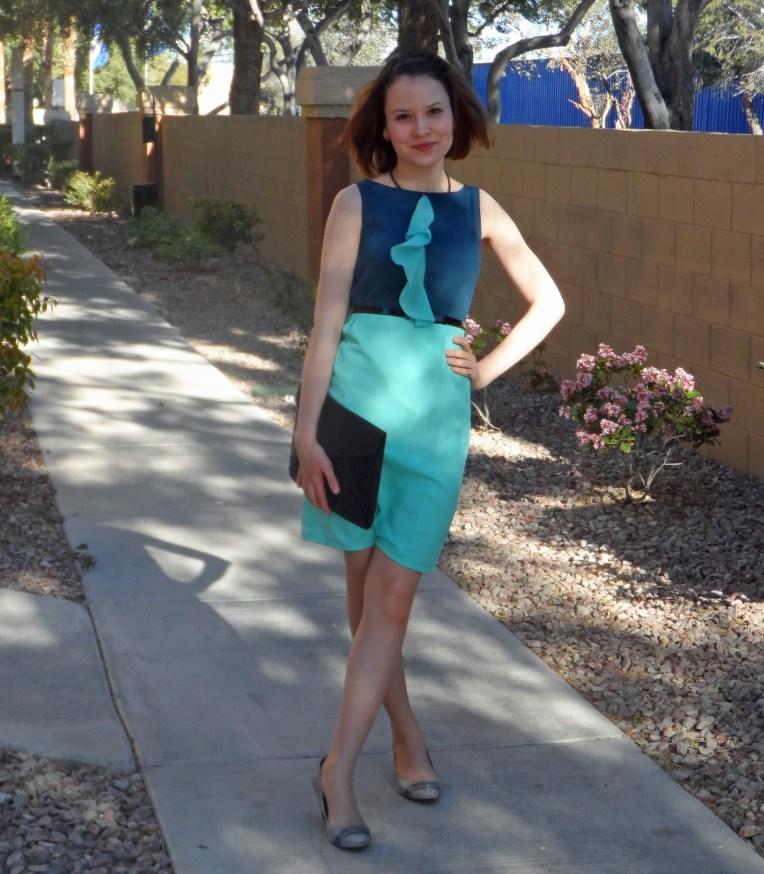 Colorblock dress 3