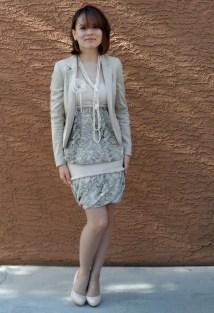 Summer dress w jacket 3