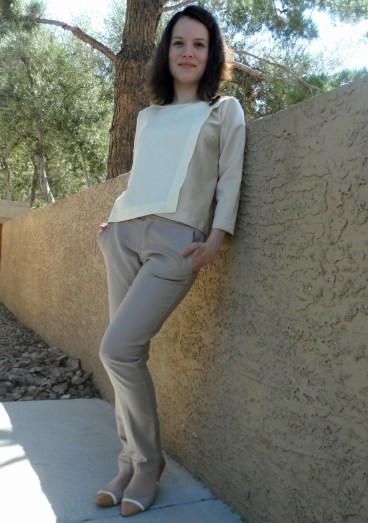 Wrap blouse 5