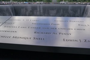 9/11 Memorial unborn child