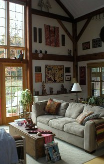 Love those posts and beams!