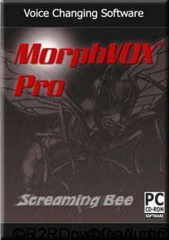 screaming bee – morphvox pro