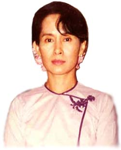Aung San Suu Kyi: penerima hadiah Nobel Pendamaian