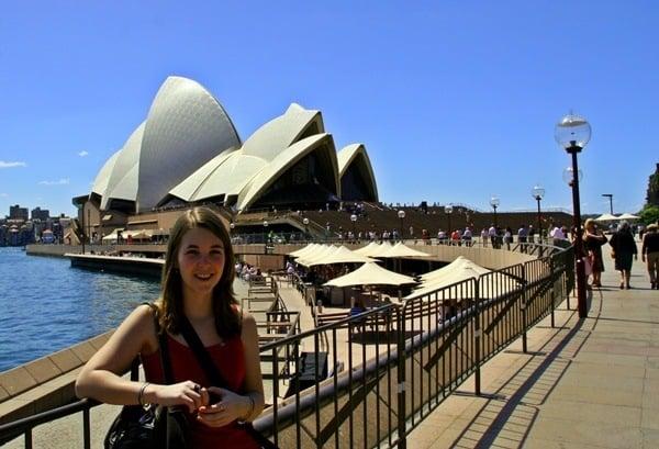 Brooke near sydney opera house