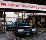 The Snow Monkey Taxi of Nagano, Japan