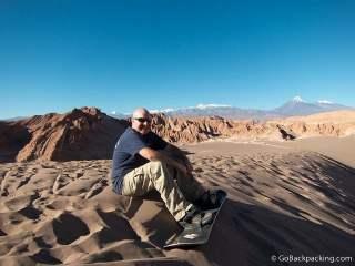 Sandboarding San Pedro de Atacama