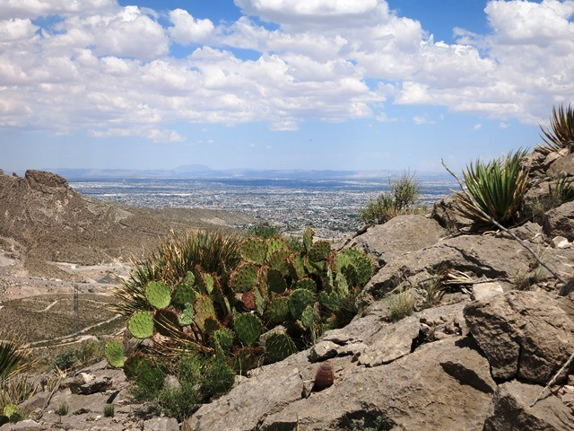 The view of Juarez