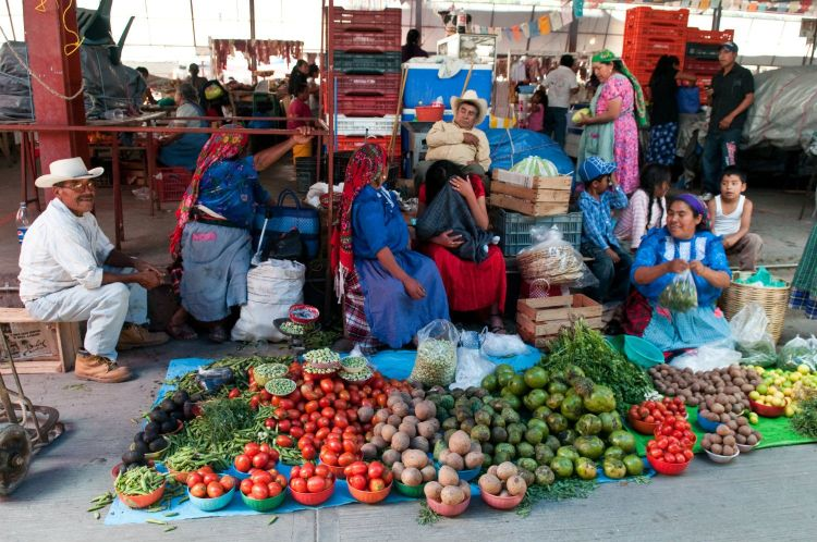 Market day in Tlacolula