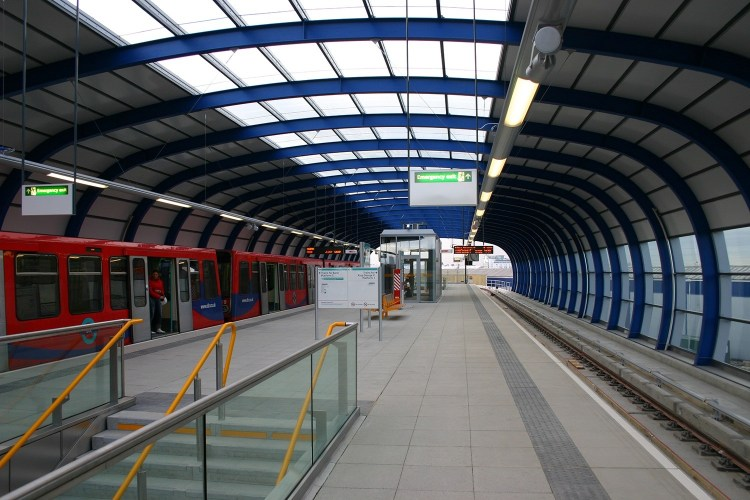 City Airport's DLR Station