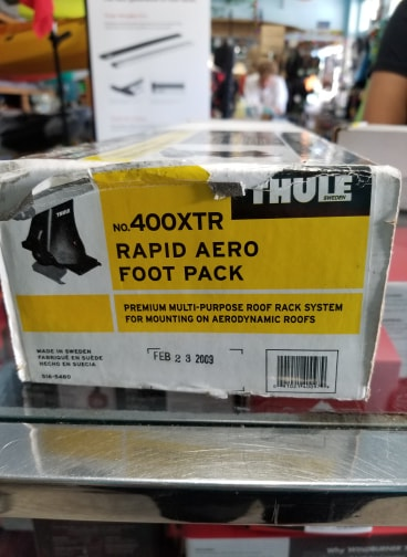 Thule 400xtr Rapid Aero Foot Pack