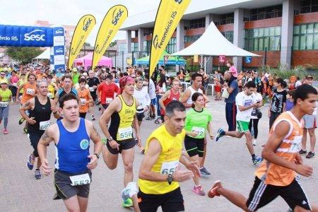 Wind Banner SESC para propaganda utilizado em Competições e Eventos Esportivos