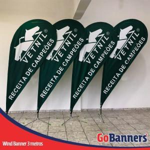 Wind Banner GOTA com 3 metros - VETNIL