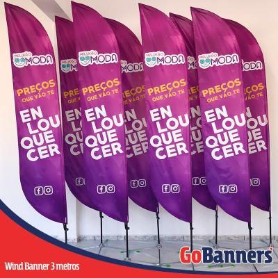 Wind Banner PENA com 3 metros - MALUKÃO DA MODA