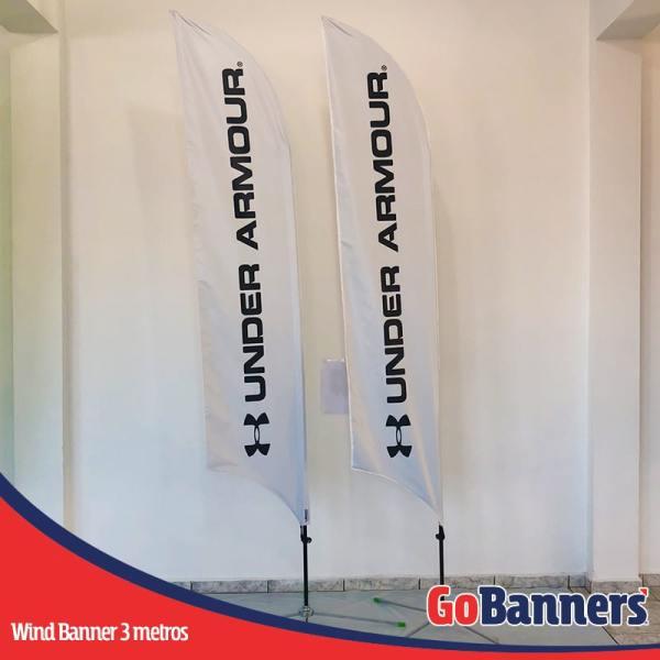 Wind Banner PENA com 3 metros - UNDER ARMOUR