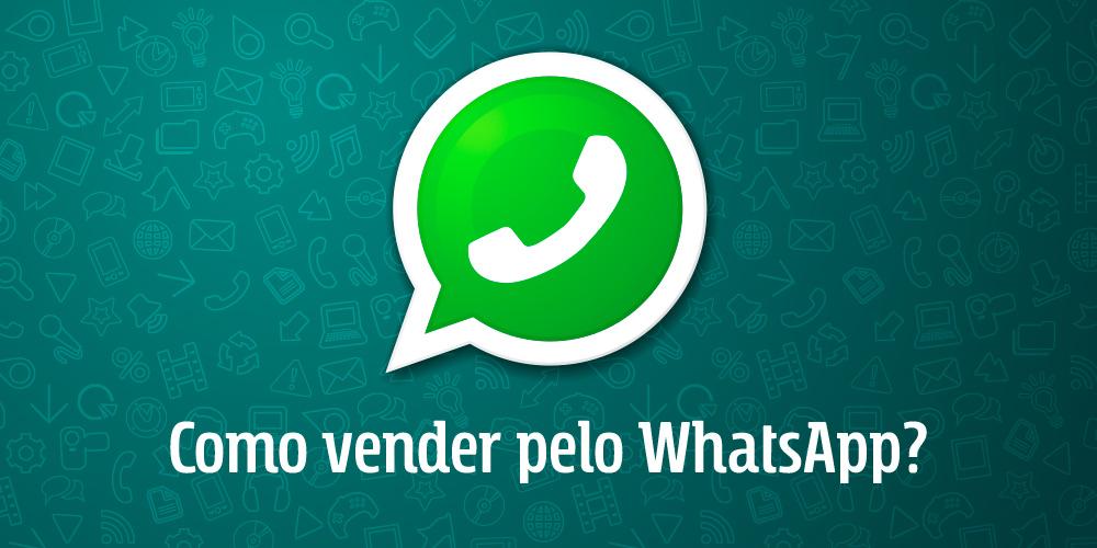 Logo do Whatsapp com texto Como vender pelo WhatsApp?