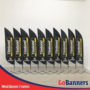 wind banner 2 metros grossl titebond