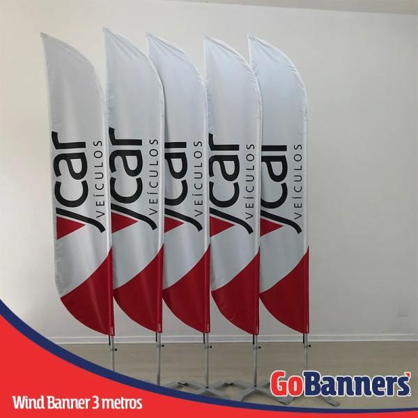 wind banner 3 metros ycar veículos