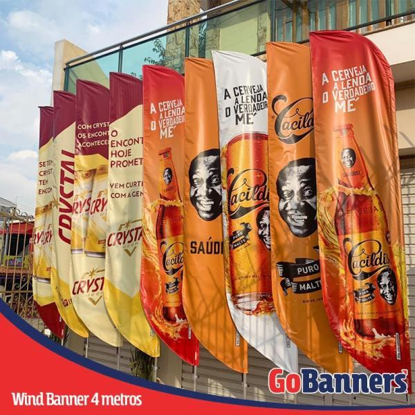wind banner 4 metros cerveja cacildis