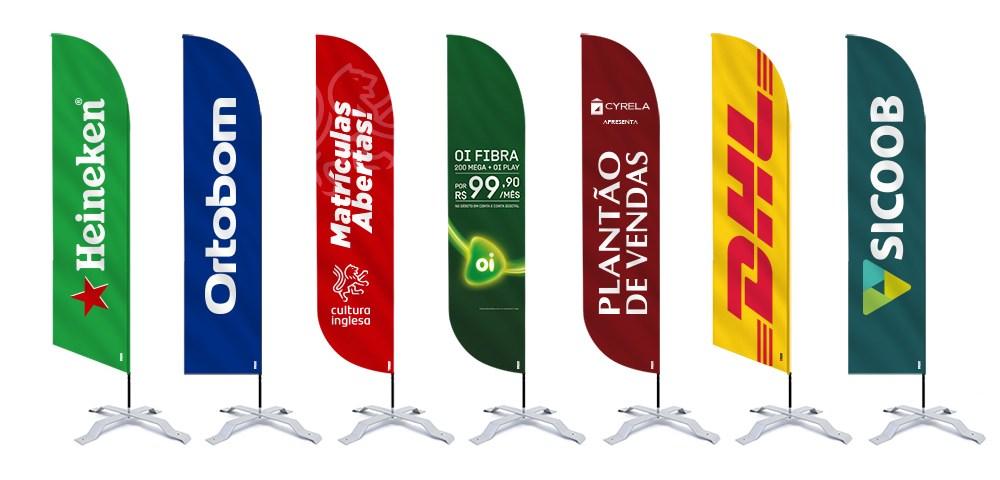 Wind Banner Personalizado em sua ação promocional