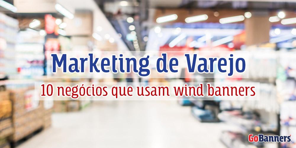 Negócios que usam wind banners
