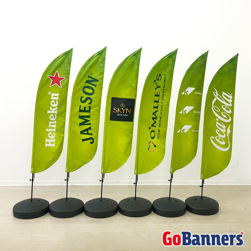 Wind Banner O'Malleys Bar