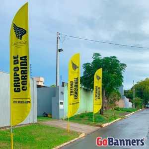 Wind Banner Academia César Araújo