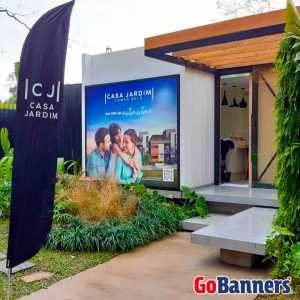 Wind Banner Casa Jardim