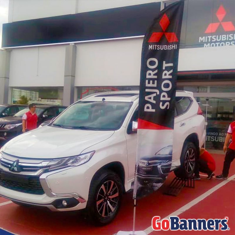 FLY BANNER PAJERO