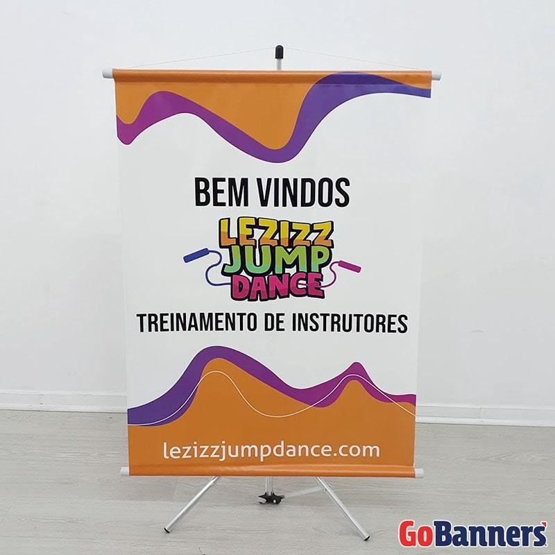 Durabilidade dos Banners Tripe Lezizz Jump Dance