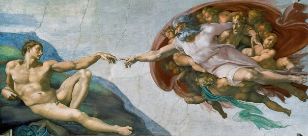 Creation of Adam by Michelangelo 1511
