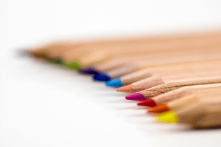 Coloured pencils by AlexanderStein CC0 Public Domain