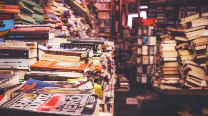 Content Still King - Book store by PublicCo CC0 Public Domain from Pixabay