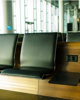 Airport seat from CC0 Public domain image by Pexels