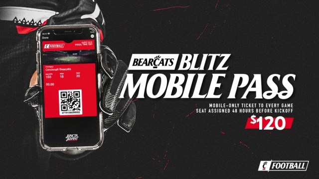 2020 Bearcats Blitz Mobile Pass - $120