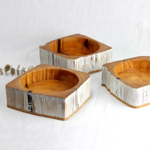 Jewellery tray from salvaged barn beam