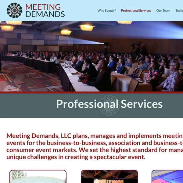 Event planning web site