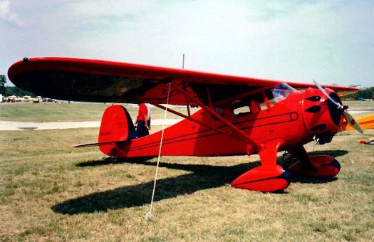 Red Lerille's Monocoupe 90A NC16427