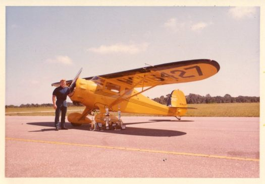 Red Lerille and Monocoupe 90A NC16427