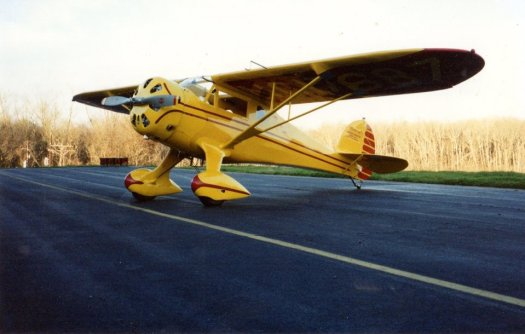 Red Lerille's Monocoupe D-145 NC17687