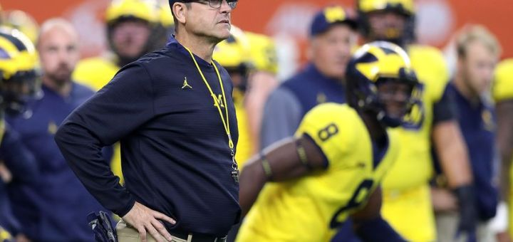 Jim Harbaugh the MAN in charge at Michigan