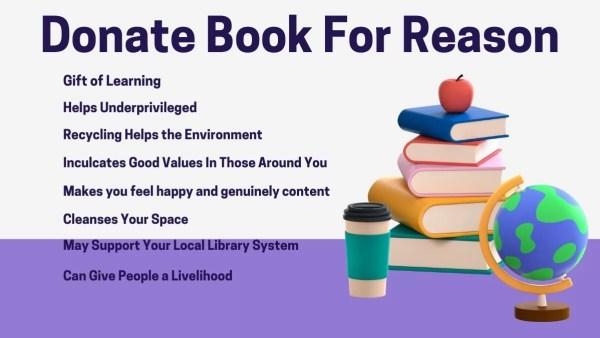 How One Act of Book Donation Can Help Many