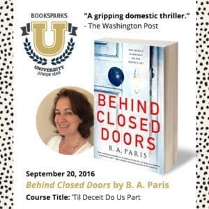 Behind Closed Doors is one of the best books of Fall! #FRC2016