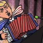 Akkordeon-Trump