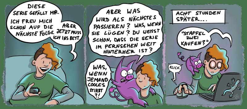 Schweinehund – Serie