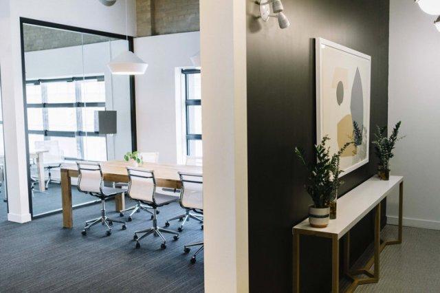 Open meeting area