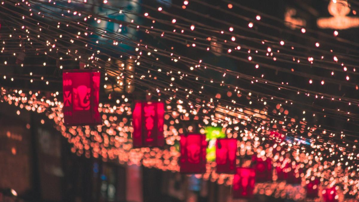Celebrating the festival of lights in Boston