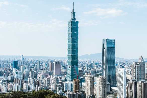 A view of Taiwan.