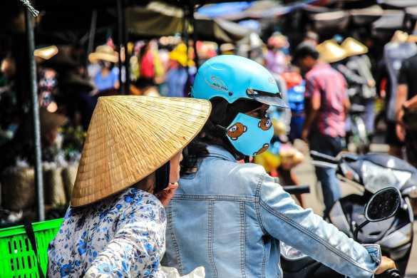 People in Vietnam.