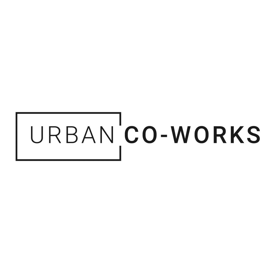 Logo & link to coworking spot Urban Co-Works