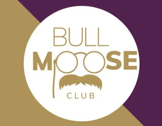 Logo & link to coworking spot Bull Moose Club